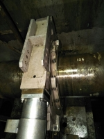 MAIN ENGINE INTERMEDIATE SHAFT BEARINGS INSPECTIONS/ MEASUREMENTS/ ALIGNMENT/ ADJUSMENT FOR VESSEL AT HO CHI MINH ANCHORAGE - VIETNAM