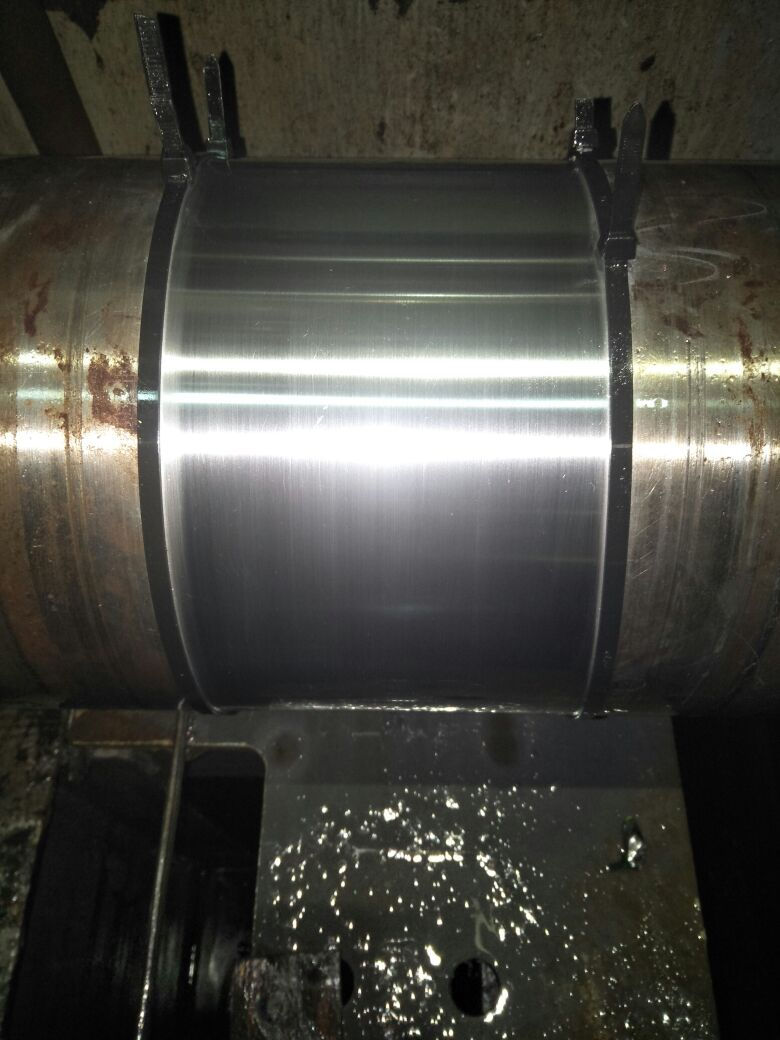 TOOLS MANUFACTURE/ MACHINING FOR REPAIRS AND ADJUSTMENTS OF MAIN ENGINE INTERMEDIATE SHAFT BEARINGS FOR VESSEL AT HO CHI MINH ANCHORAGE - VIETNAM