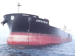 MV AMPHITRITE - HULL CLEANING & PROPELLER POLISHING AT GO GIA ANCHORAGE