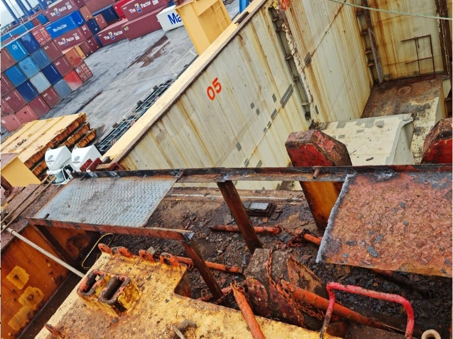 RENEWAL/REPLACEMENT OF THE DAMAGED CATWALK PLATFORM AND HAND RAILING AT MAIN DECK AND CARGO HOLDS FOR VESSEL IN HAI PHONG PORT-VIETNAM