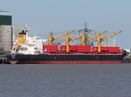 MV LACONIC - UNDER WATER INSPECTION (HULL CLEANING) AT VUNG TAU ANCHORAGE