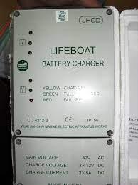 LIFEBOAT BATTERY CHARGER REPAIRS FOR VESSEL IN VAN PHONG PORT - VIETNAM.